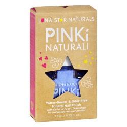 Lunastar pinki naturali nail polish little rock powder blue - 0.25 oz