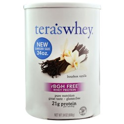 Tera' S whey  grass fed simply pure whey protein - 24 oz
