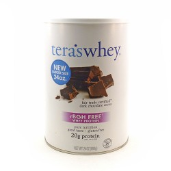 Tera's whey grass fed simply pure whey protein - 24 oz