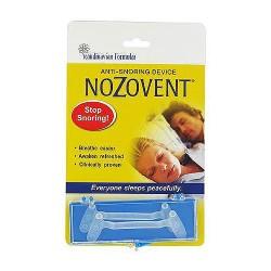 Scandinavian Formulas Nozovent Anti-Snoring device - 2 ea