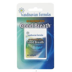 Scandinavian Formulas Good Breath Softgels - 60 ea
