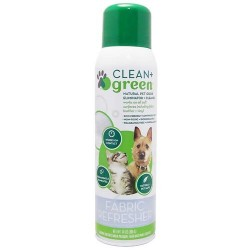 Clean + green fabric refresher odor eliminator & cleaner for dogs & cats - 14 oz