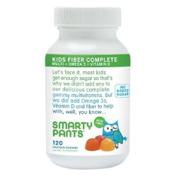 Smarty Pants Multivitamin Kids Fiber Complete Gummy - 120 ea