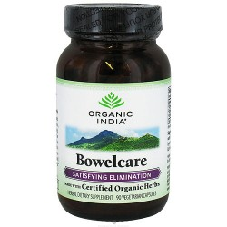 Organic India Bowel care Satisfying Elimination, Vegetarian Capsules - 90 ea