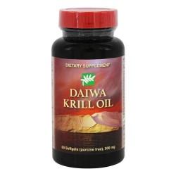 Daiwa health development daiwa krill oil 500 mg - 60 Softgels