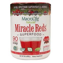 MacroLife Naturals miracle reds antioxidant super food - 30 oz