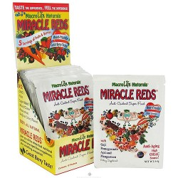 MacroLife Naturals Miracle Reds Antioxidant Super Food - 12 Packet