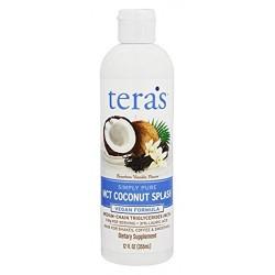 Tera's  simply pure mct coconut splash - 12 oz