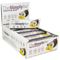 The simply bar protein bar lemon coconut - 1.4 oz, 15 ea