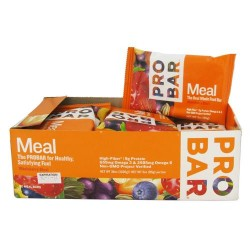 Pro bar whole food meal bar original collection, whole berry blast - 3 oz