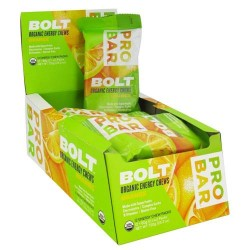 Pro bar - bolt organic energy chews orange - 2 oz