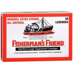 Fishermans friend menthol cough suppressant lozenges, original - 38 ea, 6 pack