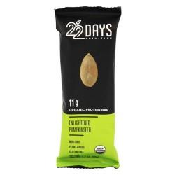 22 Days - vegan energy barenlightened pumpkinseed- 1.7 oz
