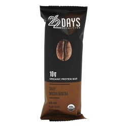 22 Days - vegan energy bar dailymocha mantra- 1.7 oz