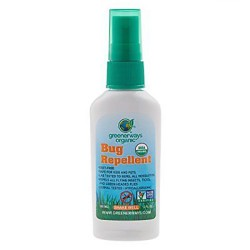 Greenerways Organic bug repellent - 2 oz