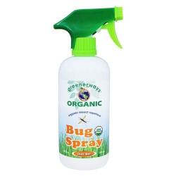 Greenerways organic - organic insect repellent bug spray - 16 oz