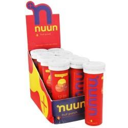 Nuun electrolyte enhanced drink tabs fruit punch tablets - 12 ea, 8 pack
