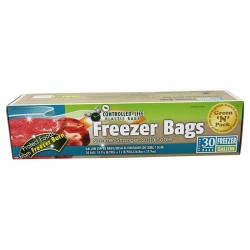 Green 'n' pack eco friendly bags - freezer bags gallon - 30 bags