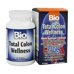 Bio Nutrition Total Colon Wellness, Multi Nutrient - 60 Tablets