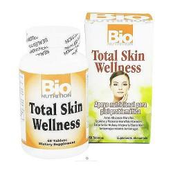Bio Nutrition Total Skin Wellness Tablets - 60 ea