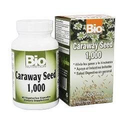Bio Nutrition Caraway Seed Vegetarian Capsules, 1000 mg - 60 ea
