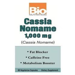 Bio nutrition cassia nomame 1000mg - 60 ea