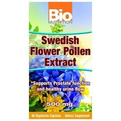 Bio nutrition swedish flower pollen extract 500mg - 60 ea