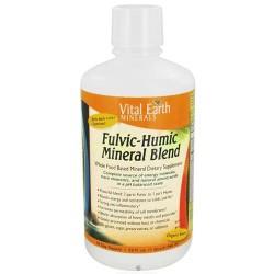 Vital earth fulvic-humic mineral blend - 32 oz