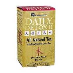 Daily Detox II Decaffeinated Green Tea, Passion Fruit - 30 ea