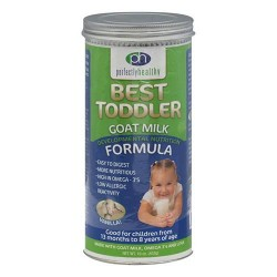 Perfectly healthy best toddler goat milk, vanilla - 16 oz