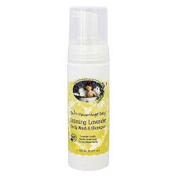 Earth Mama Angel Baby Shampoo and Body Wash, Calming Lavender Vanilla - 5.3 oz