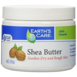 Earth's care shea butter pure natural - 6  ea