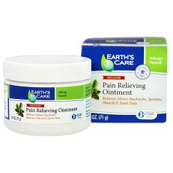 Earths Care Triple Action Pain Relieving Ointment - 2.5 oz