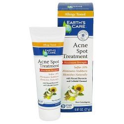 Earths Care Acne Spot Treatment Maximum Strength - 0.97 oz