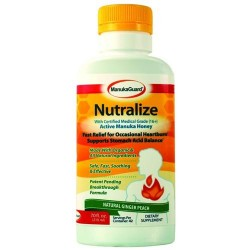 Manukaguard Neutralize With Certified Medical Grade, Natural Ginger Peach - 7 oz