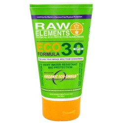 Raw elements eco formula spf 30 bio protection sunscreen  -  3 Oz