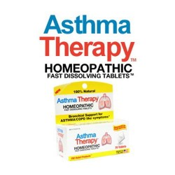 Asthma therapy fast dissolving tablets, homeopathic - 70 ea