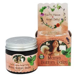 Earth Mama Angel Baby Bottom Balm, Hemorrhoid Salve - 2 oz
