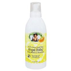 Earth Mama Angel Baby, Shampoo and Body Wash - 34 oz