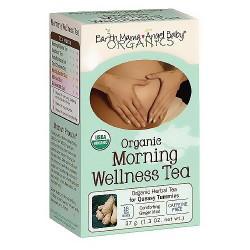 Earth Mama Angel Baby Organic Morning Wellness Tea - 16 Tea Bags