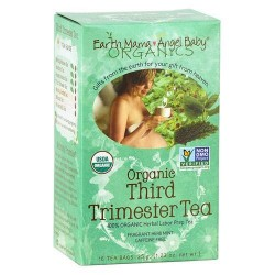 Earth mama angel baby third trimester tea - 16 ea