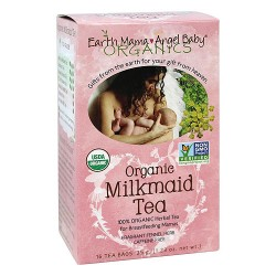 Earth Mama Angel Baby, Organic Milkmaid Tea - 16 tea bags