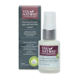 Via nature rescue complex eye anti wrinkle cream - 1 oz