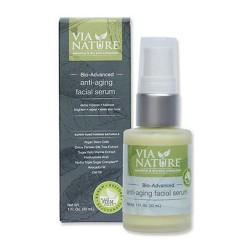 Via nature bio advanced anti aging facial serum - 1 oz