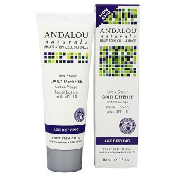 Andalou Naturals Daily defence facial lotion with spf 18 - 2.7 oz