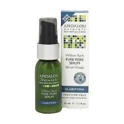 Andalou Naturals Willow Bark Pure Acne Pore Serum - 1.1 oz