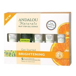 Andalou Naturals Get Started Skin Brightening Kit - 1 ea