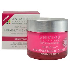 Andalou naturals 1000 roses heavenly night cream - 1.7 oz
