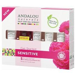 Andalou naturals get started sensitive kit - 5 ea