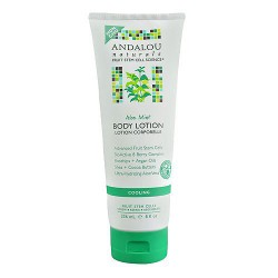 Andalou Naturals Skin Cooling Body Lotion, Aloe Mint - 8 oz
